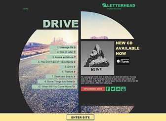 Album Muzyczny Template - Wypromuj swoją muzykę używając tego super niesamowitego szablonu. Dostosuj go do własnego stylu już dzisiaj!