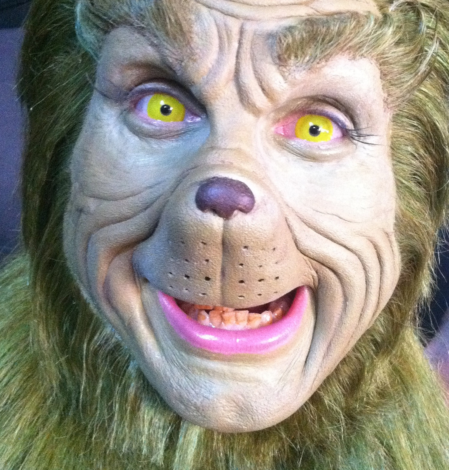 For Grinchmas at Universal Studios Hollywood.Prosthetic by Patrick ...