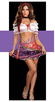 Disfraz Gitana