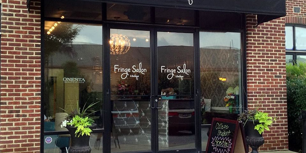 Fringe salon boutique newark delaware hair salon for 56 west boutique and salon