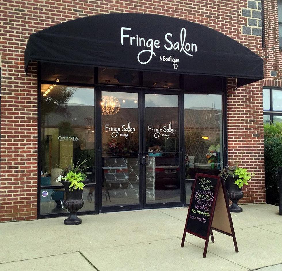 fringe salon boutique newark delaware hair salon. Black Bedroom Furniture Sets. Home Design Ideas