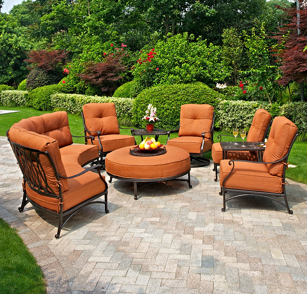Florida backyard outdoor patio furniture hanamint mayfair for Hanamint patio furniture