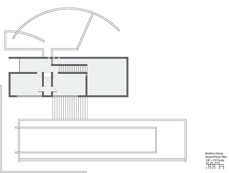 Site Plan Koshino House House Plans