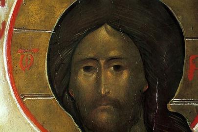 Icône du Christ (détail) Grégoire Kroug