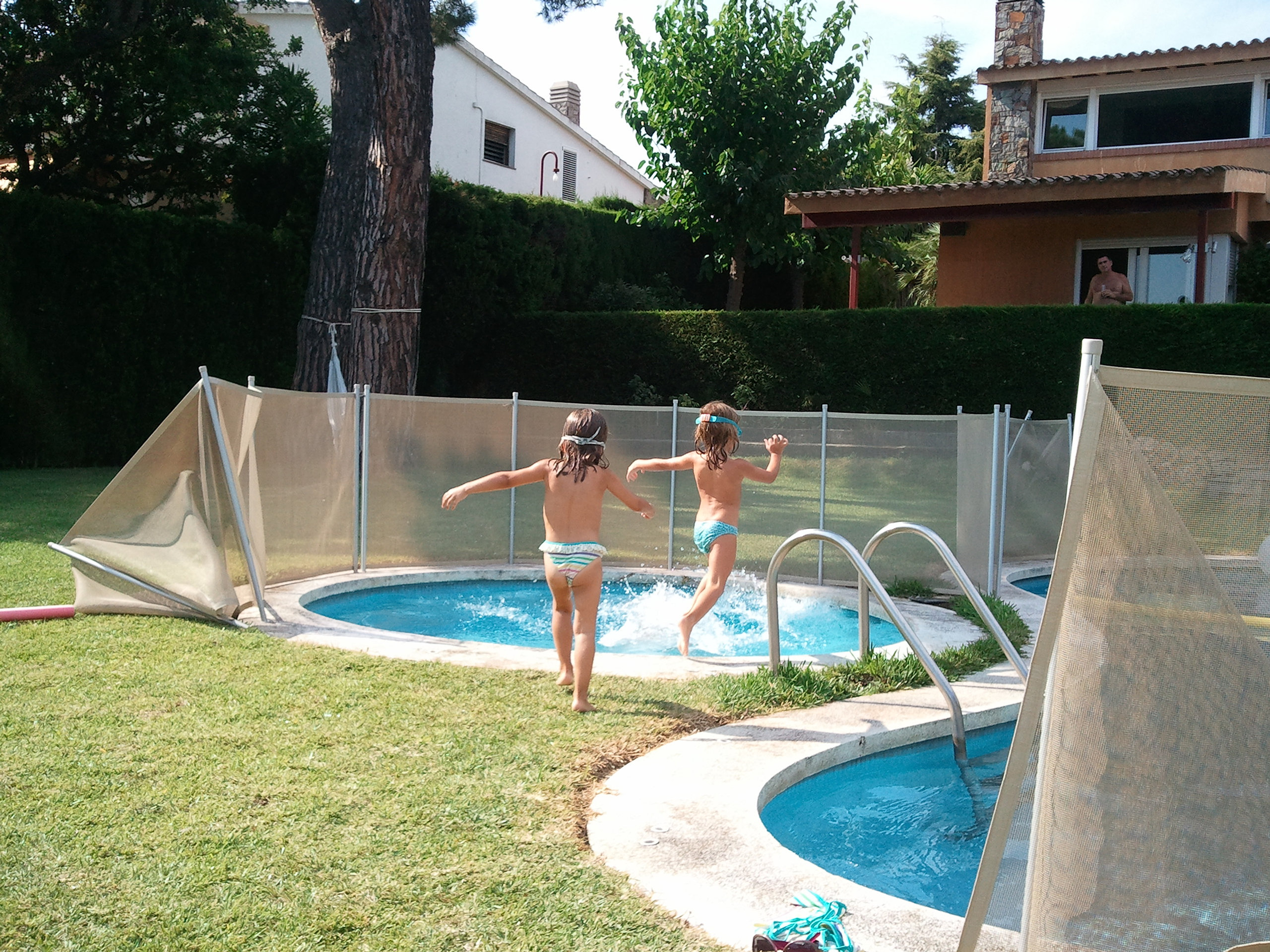 Babysecur vallas para piscinas safety pool fence for Piscines demontables