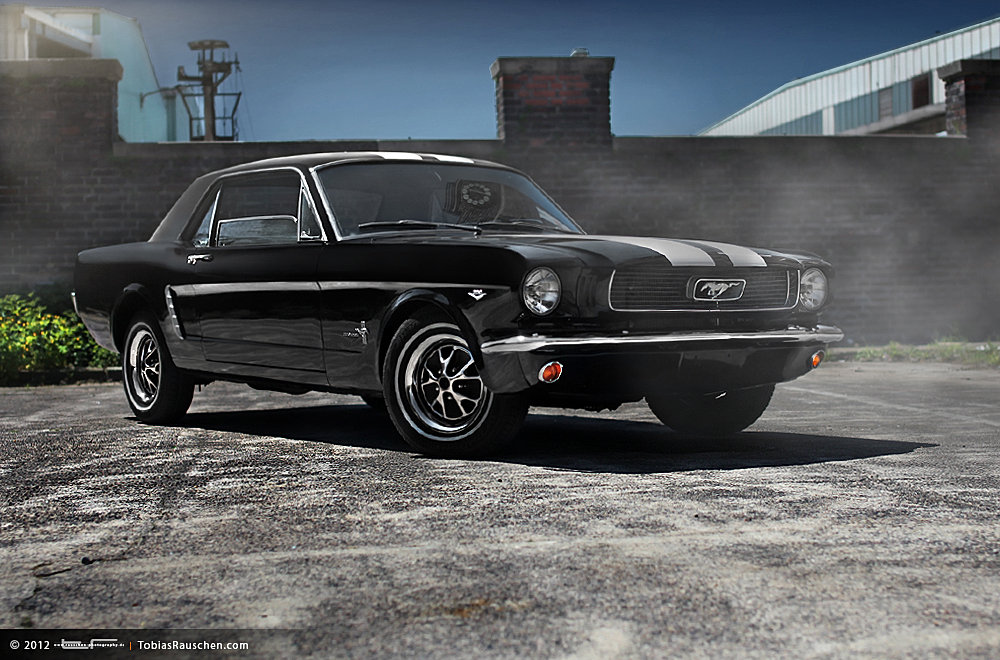 us car one us import amerikanische sportwagen oldtimer ford mustang in the ghetto. Black Bedroom Furniture Sets. Home Design Ideas