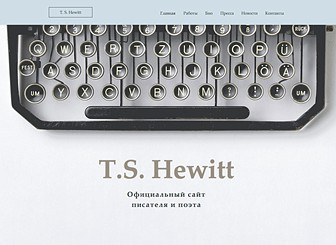 Author & Poet Template - Showcase your best works with this traditional and elegant author website template. This stylish site gives you ample space to promote your books, press reviews and any upcoming events. Start editing the text and upload your own book covers to sell your books today!