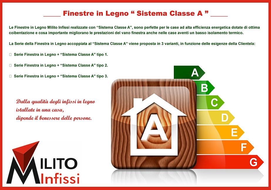 finestre in legno classe a risparmio energetico