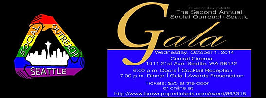 Social Outreach Seattle Gala