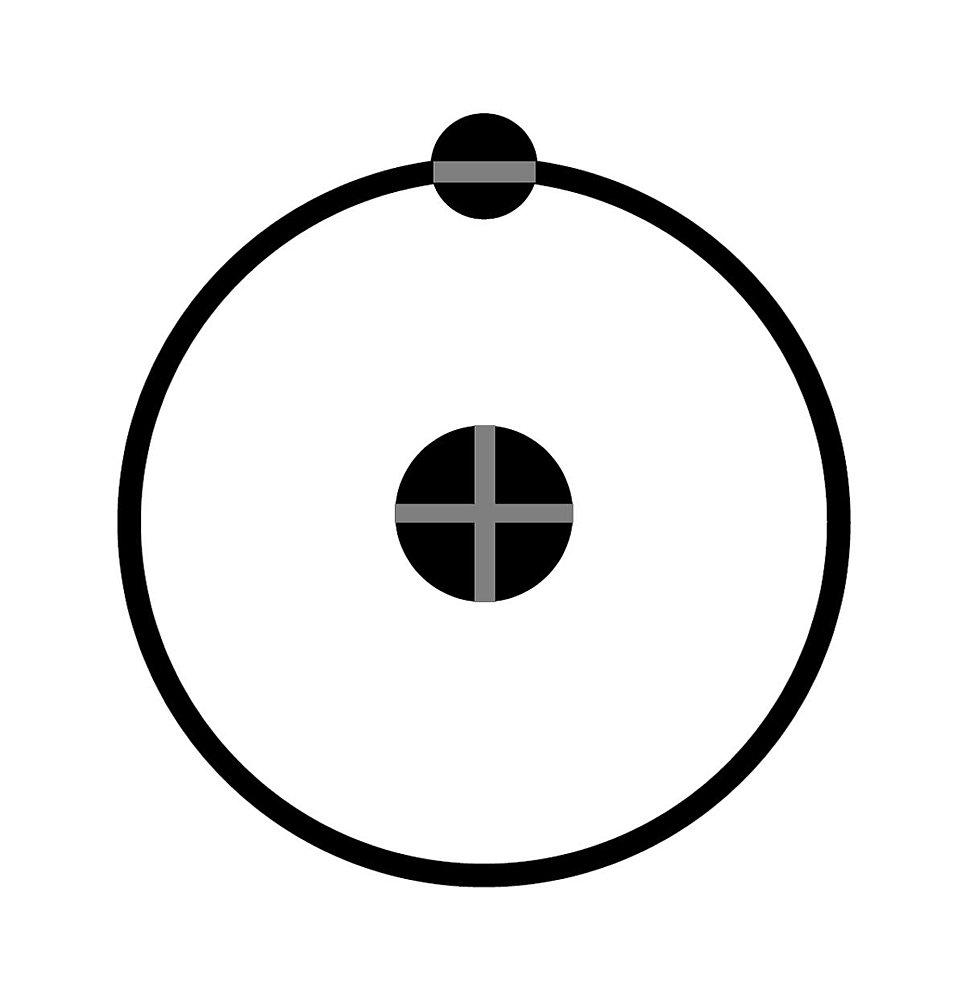 Hydrogen Atom Tattoo
