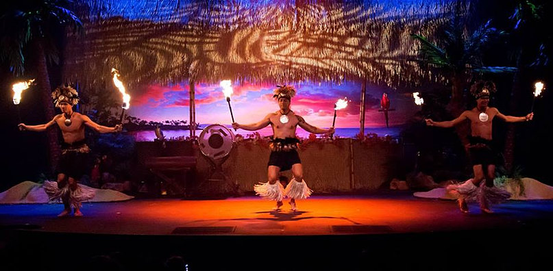 Polynesian Fire Dance Myrtle Beach