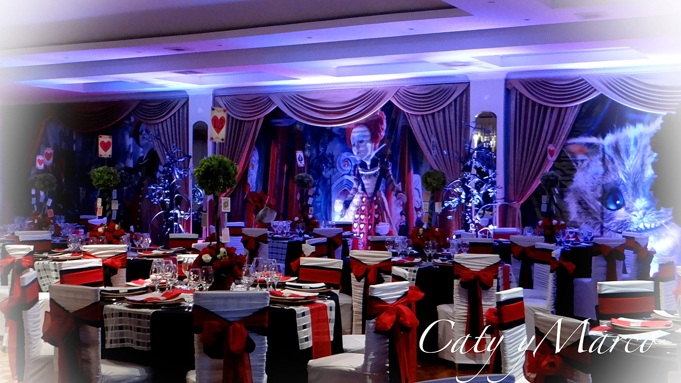 Match music producciones y eventos caty y marco for Ornamentacion para fiesta de 15