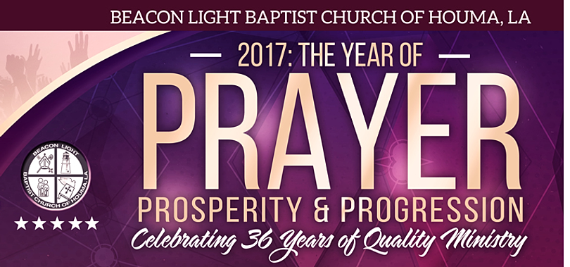 2017 BEACON LIGHT BAPTIST CHURCH OF HOUMA BANNER