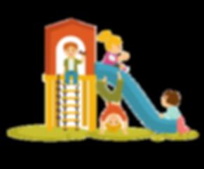 kids-children-playing-on-playground-cart