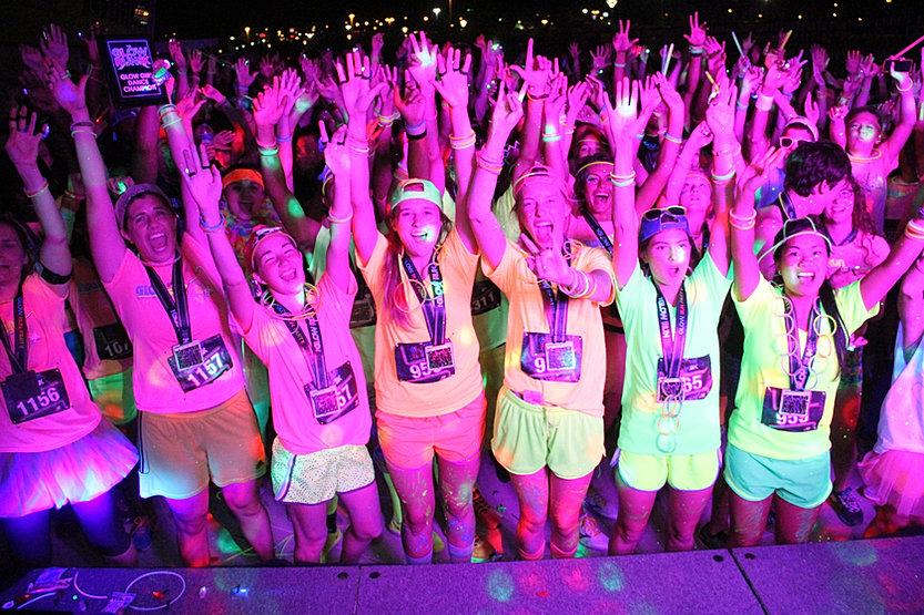 Glow Neon Run Glow Run 5k Glow Run 5k
