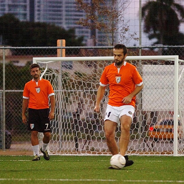 J Loved The Field On The Wall Look ȁ�: #miami#love#soccer