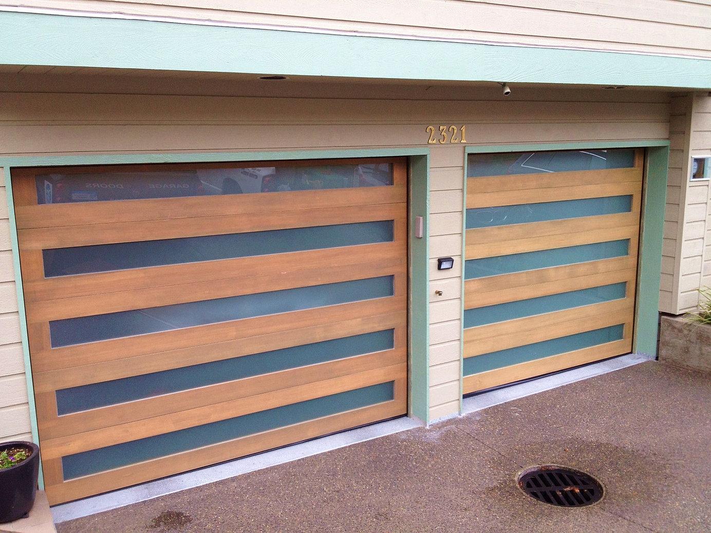 Wood garage doors vancouver for Garage doors wood