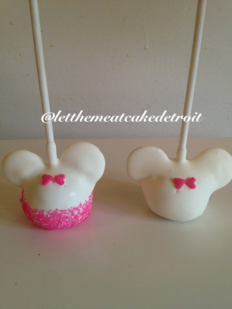 Images Of Minnie Mouse Cake Pops
