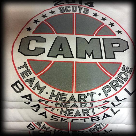 Basketball Camp Shirt Designs Camp Basketball t Shirts