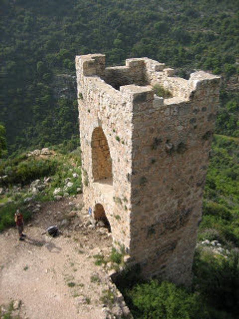 gate tower of the inner defenses
