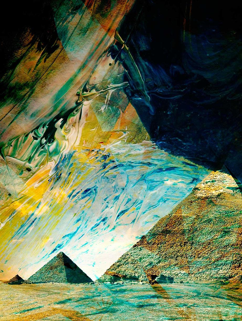 Kansas dickinson county abilene - Abstract Pyramids