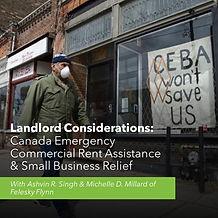 Landlord Considerations - CECRA Webinar