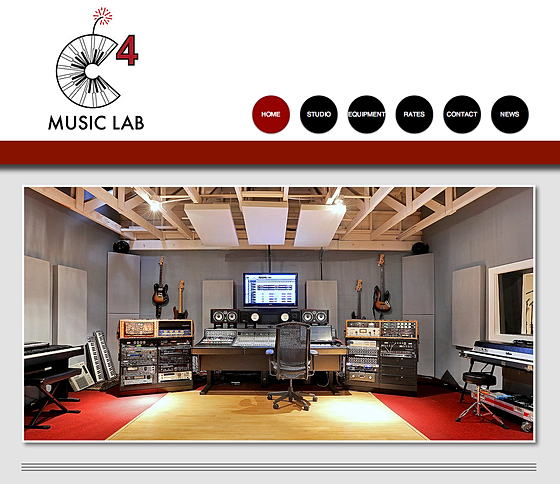 C4 Music Lab Website