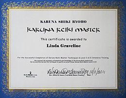 Karuna Certificate Los Angeles