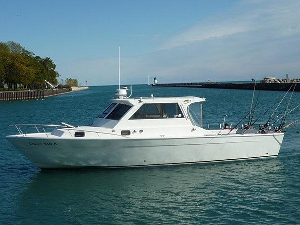 About lucky kid ii lake michigan fishing charters chicago for Lake michigan fishing charters