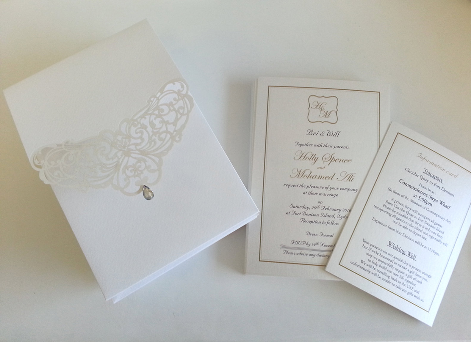 Unique Handmade Wedding Invitation & Stationery | Pure Invites