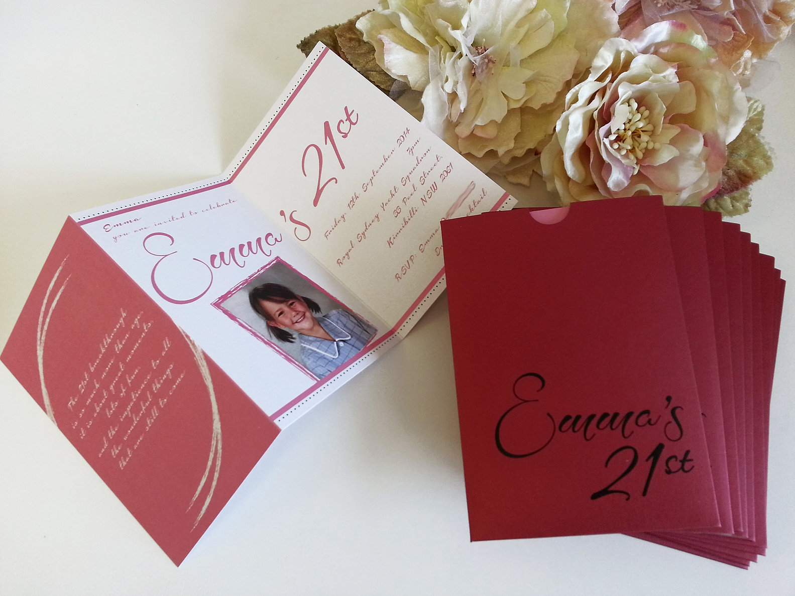Birthday Invitations and Anniversary Invitations Sydney | PURE INVITES