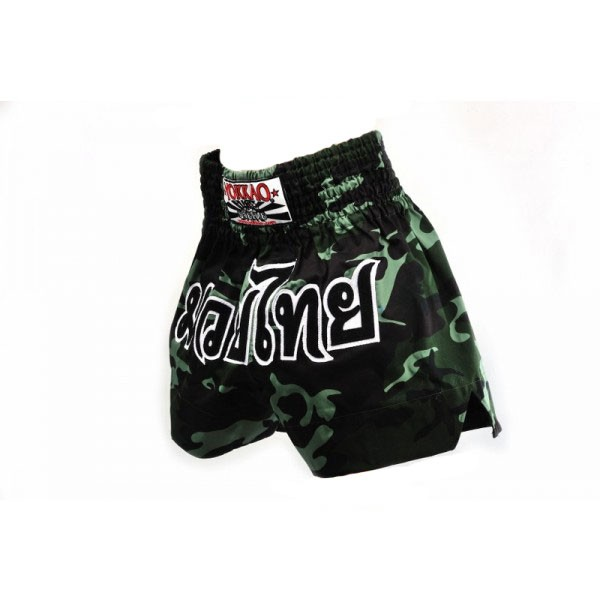 Muay Thai Shorts Camo Muay Thai Thai Shorts