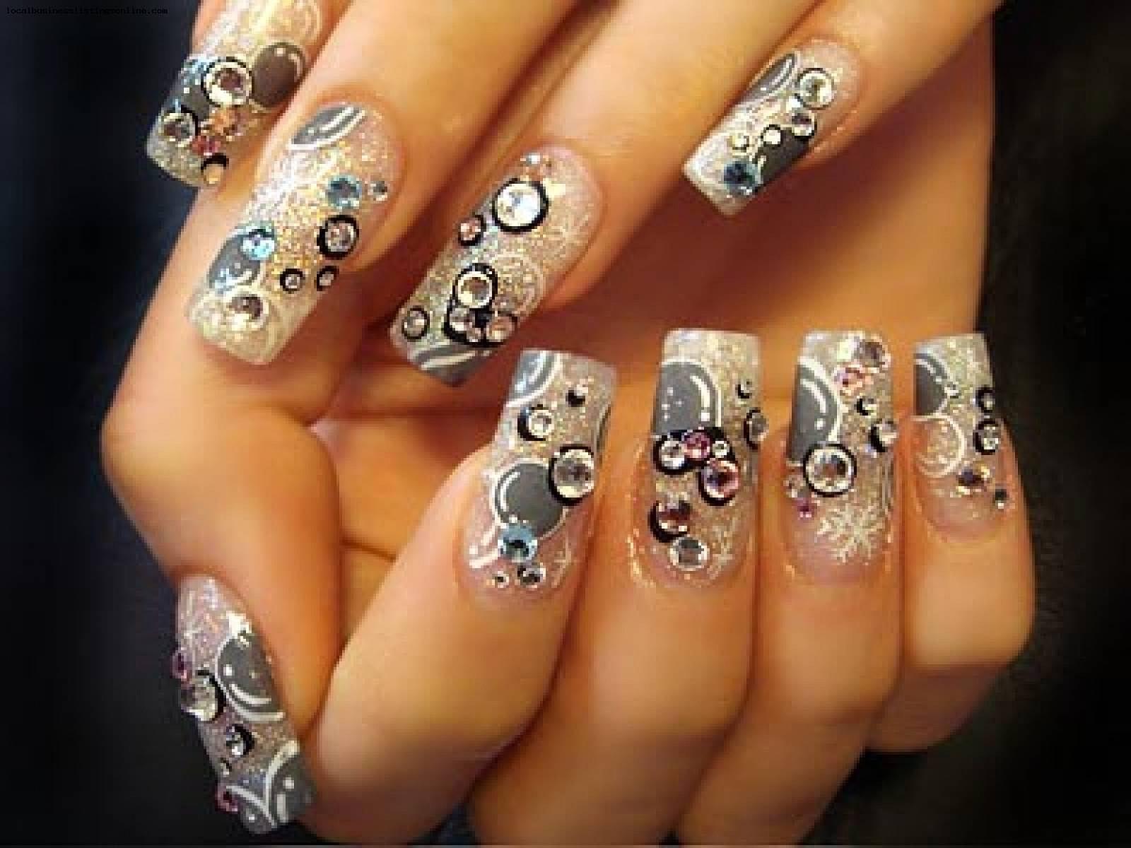 Красивые ногти дизайн видео