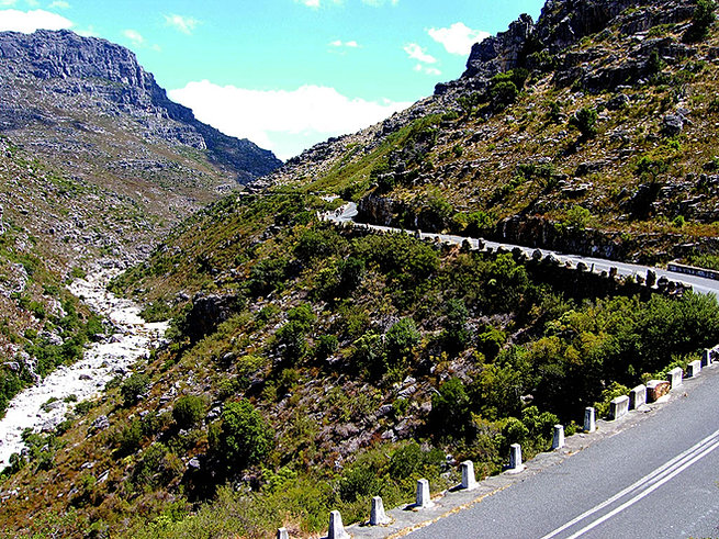 3 day mountan passes motorcycle tour gps and guided for Bainskloof pass