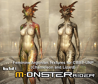 Feminine Argonian Textures
