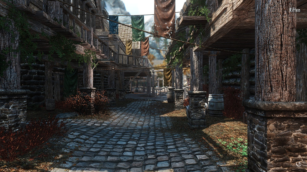 Entering Riften.