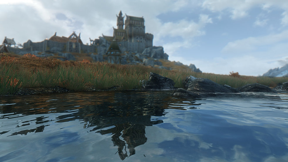 Outskirts of Whiterun.
