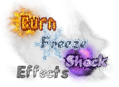Burn Freeze Shock Effects