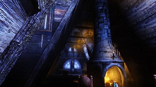 Inside an inn
