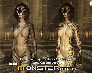 Feminine Khajiit Textures