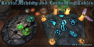 RUSTIC ALCHEMY and ENCHANTING TABLES