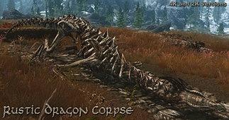 RUSTIC DRAGON CORPSE