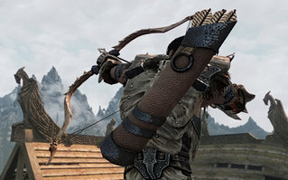 Dragonbone Arrow and Quiver Replacer