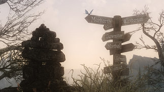 Weathered Road Signs