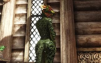 Dragonic Argonian Textures Female