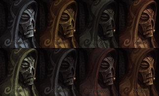 Dragon Masks Retextured