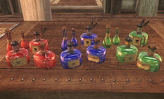 Pretty Animated Potions