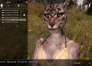 HD Khajiit Warpaints