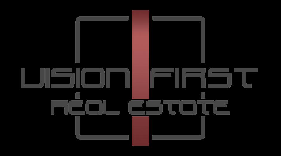 Vision First Logo - Red - Transparent.pn