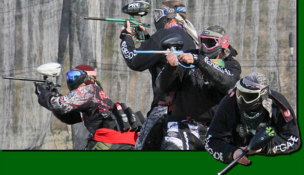 how to play back center paintball